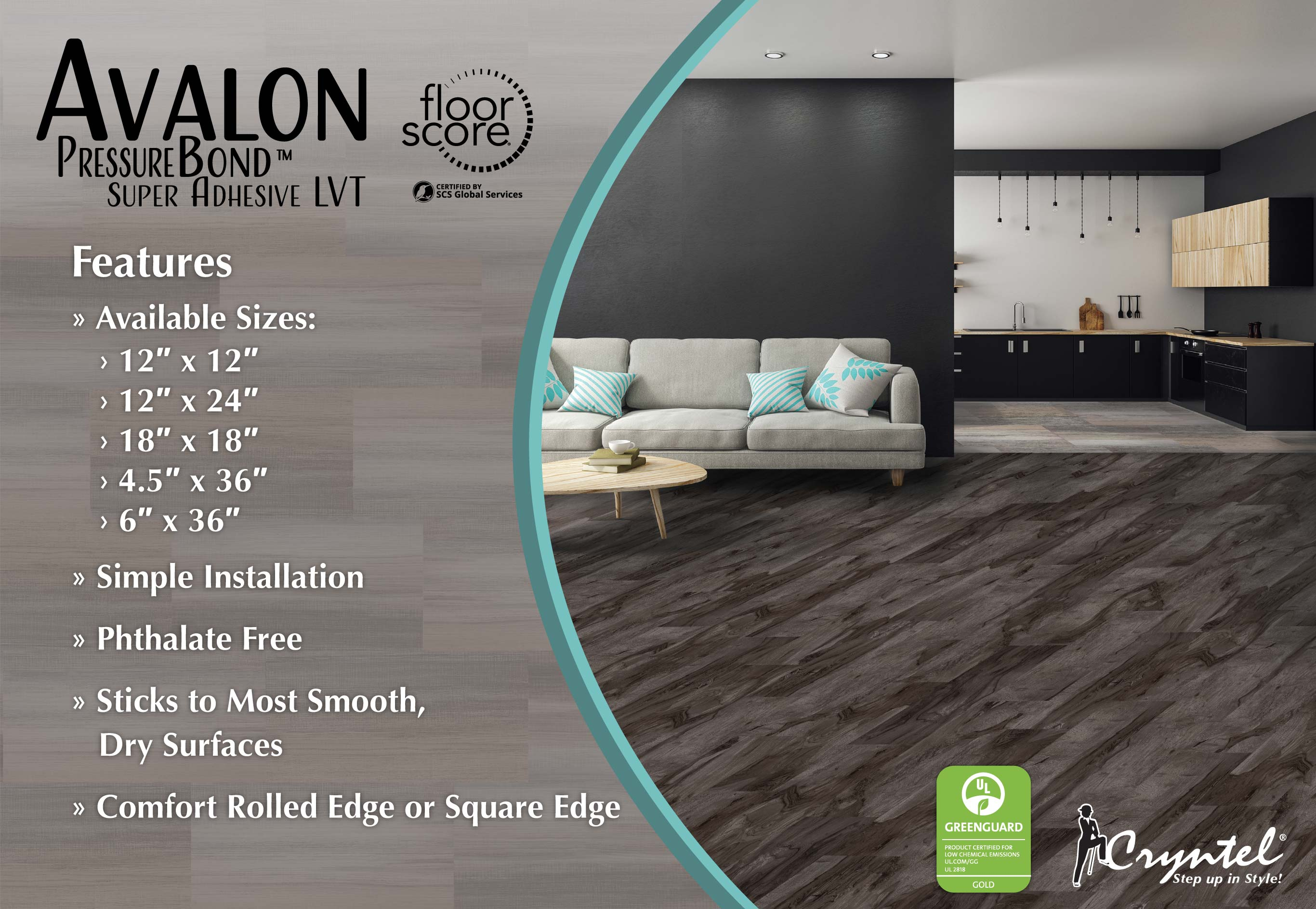 Avalon PressureBond Super Adhesive LVT