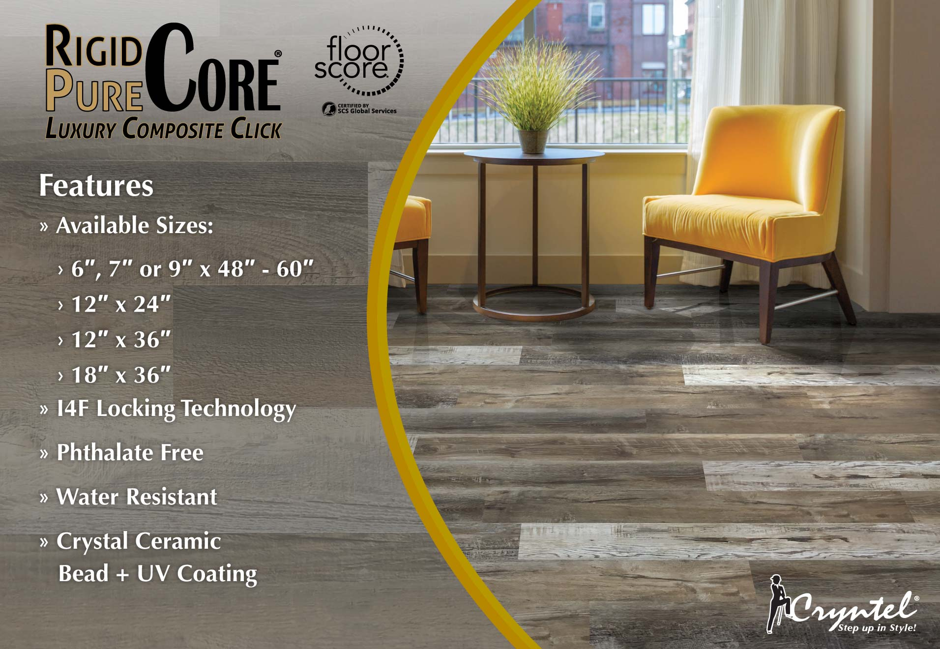 Rigid Pure Core Luxury Composite Click