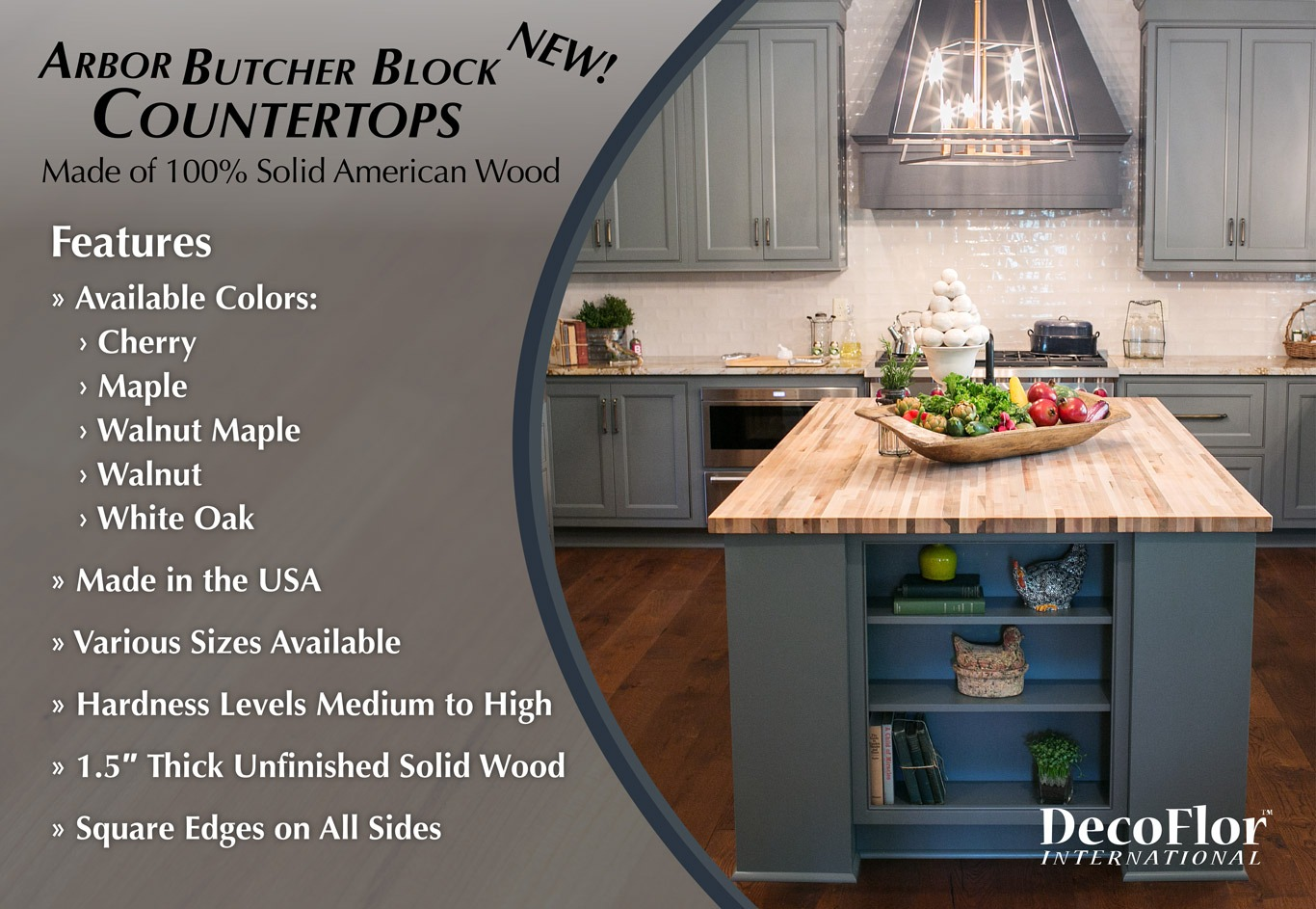 Arbor Butcher Block Countertops